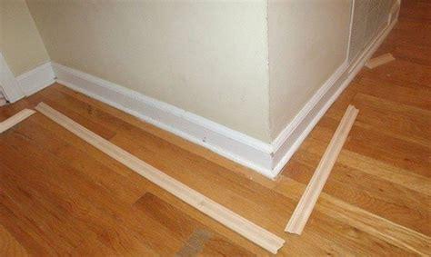 tricks  turn builder grade baseboards  custom
