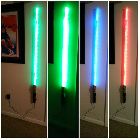 Lightsaber Lights by Light Saber Wall Light Wars Atmosphere At Your Home
