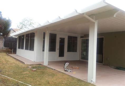 aluminum patio covers ca patio enclosures