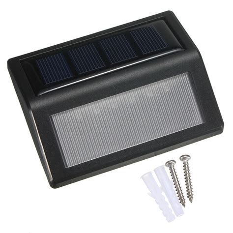 6 led smd solar panel pir motion sense light l ip65