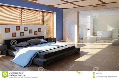 chambre a coucher luxe chambre à coucher de luxe moderne avec la salle de bains