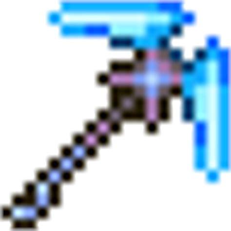 how to craft pickaxe axe in terraria