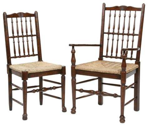 antique style spindle back dining chair traditional