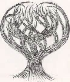 Dark Evil Tree Drawing