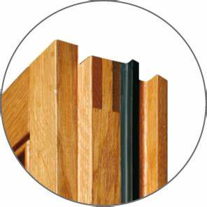Joint De Porte Bois : fen tres bois prestige actibaie concept fen tres ~ Edinachiropracticcenter.com Idées de Décoration