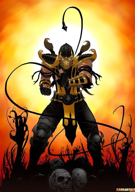 Mk Art Tribute Scorpion From Mk 9