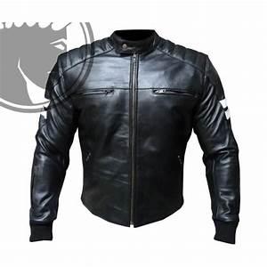 Blouson De Moto : blouson moto homme cuir biker retro noir l achat vente blouson veste blouson moto homme ~ Medecine-chirurgie-esthetiques.com Avis de Voitures