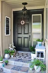 Outdoor Entryway Decor - Home Decorating Ideas