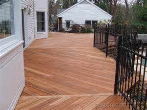 wood decking tiger wood decking prices