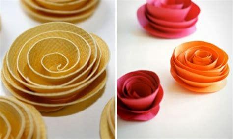 leichte diy party dekoration aus papier festlich und