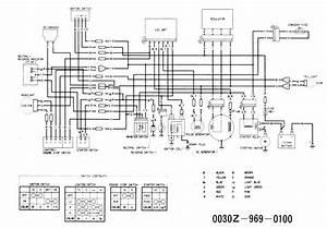 Trx200 Wiring Diagram  Needed