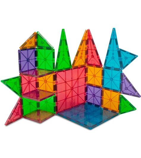 magna tiles clear colors 100 piece set