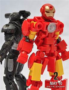 Lego Iron Man privatizes world peace one brick at a time ...