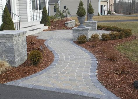 pavers for walkway ideas for paver walkways paver house blog