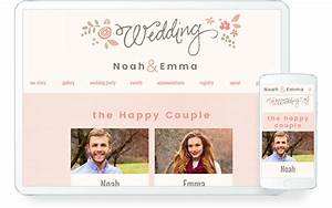 wedding websites choose from 600 free designs With wedding video website