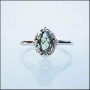 alexandrite engagement ring genuine alexandrite gemstone engagement custom ring 14k gold artisanchantier wedding