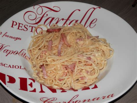 spaghetti carbonara un amour de cuisine