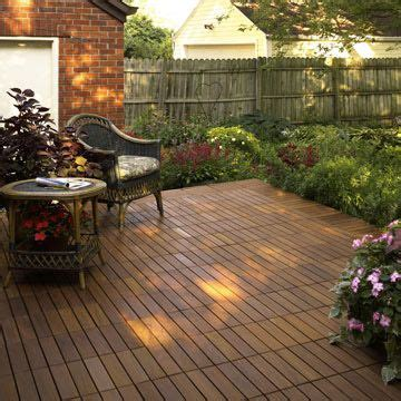 Patio Decking Squares
