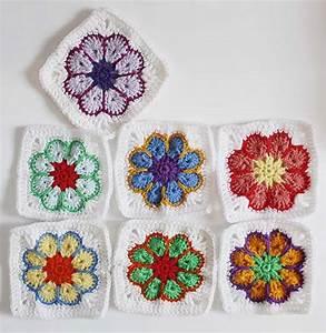 Granny Squares Muster : blumenbunt granny squares ~ A.2002-acura-tl-radio.info Haus und Dekorationen