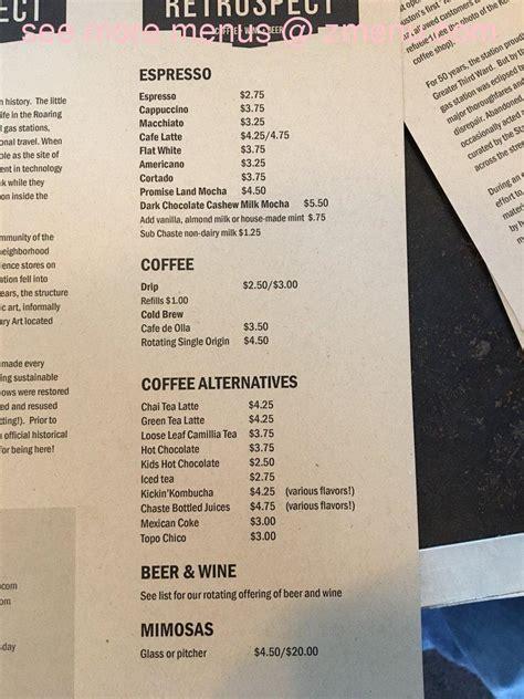 3704 la branch st, houston, tx 77004. Online Menu of Retrospect Coffee Bar Restaurant, Houston, Texas, 77004 - Zmenu
