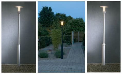 outside solar l post outdoor pole lights outdoor post lights outdoor post l