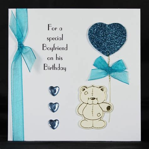 Use the crayons or markers to write a nice birthday message and if a toddler is helping, they may really enjoying painting a nice picture on the scenery on the inside of the card. handmade birthday card ideas for boyfriend - Google Search   Birthday cards for boyfriend, Funny ...