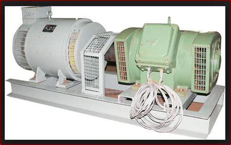 Electric Motor And Generator by Motor Generator Set M G Set Electrical4u