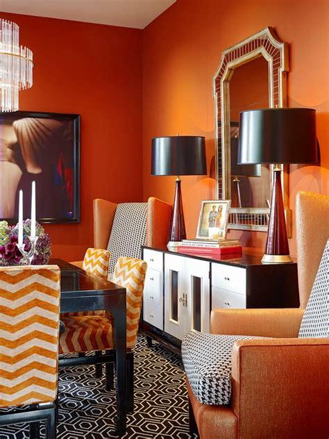 orange color   interior design home reviews