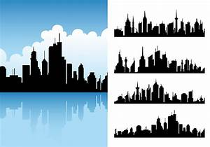 City Skyline Vector Pack - Download Free Vector Art, Stock ...