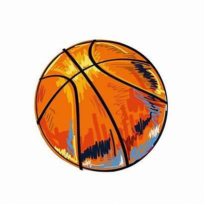 Basketball Transparent Background Clipart Graffiti Illustration Clip