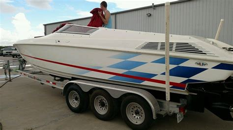 Scarab Cigarette Boats For Sale by 1997 Scarab 29 Cigarette The Hull Boating And