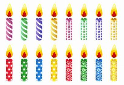 Candles Birthday Transparent Format
