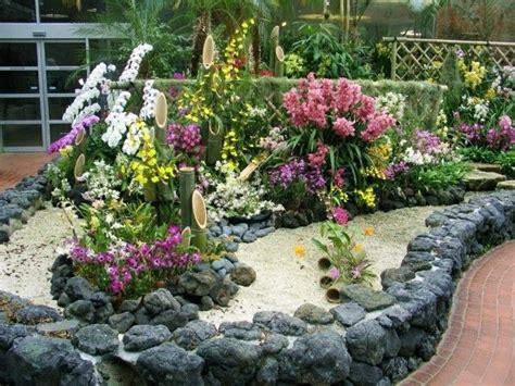 Garten Gestalten Blumen by 1001 Ideen Zum Thema Blumenbeet Mit Steinen Dekorieren
