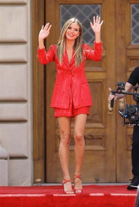 Heidi Klum The Set America Got Talent Pasadena