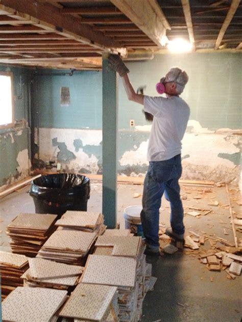 asbestos  electrical updates  square