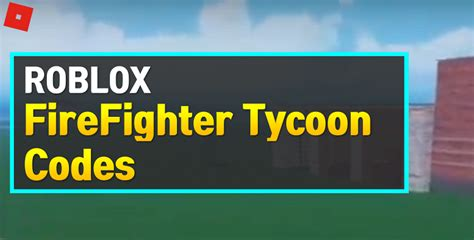 In every battle royal games, pushing up a level is the prime focus for the players, and the same goes for garena free fire. Roblox FireFighter Tycoon Codes (May 2021) - OwwYa