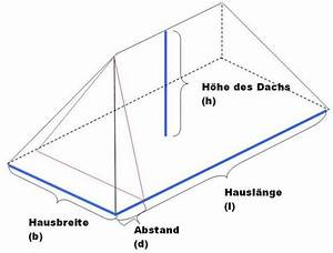 Höhe Eines Rechtwinkligen Dreiecks Berechnen : das volumen eines walmdachs berechnen ~ Themetempest.com Abrechnung