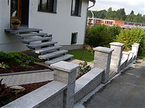 Blüm Garten Und Ideen Zella Mehlis by Hauseingangstreppe Beton Neue Treppe Aus Granit Treppen