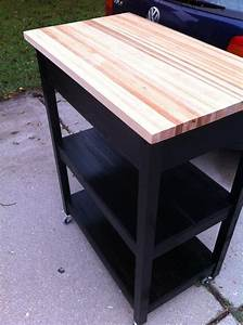 Diy, Kitchen, Cart, From, Cabinets