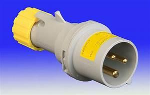 110v 16 Amp 3 Pin Plug