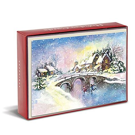 Gift cards on amazon are special top up vouchers that can be exchanged on the amazon website for items. Amazon.com : Graphique Snowy Village Glitter Christmas ...