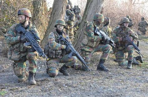 Les Soldats Belges Envoyés En Estonie N'ont Pas