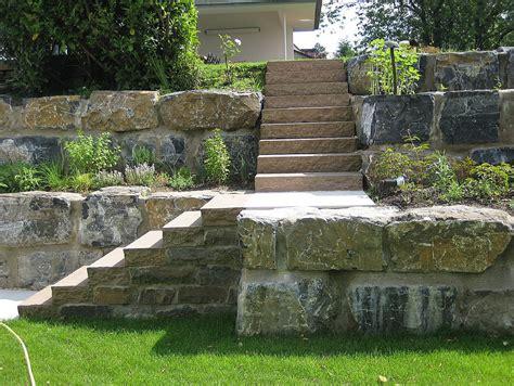 Treppen Im Garten Hanglage by Treppen Im Garten Hanglage Mauern St Tzw Nde Und Treppen
