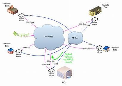 Mpls Bigleaf Diagram Internet Lan Access Side