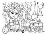 Scientist Mad Coloring Jadedragonne Deviantart Printable Getcolorings Scientists Från Sparad sketch template