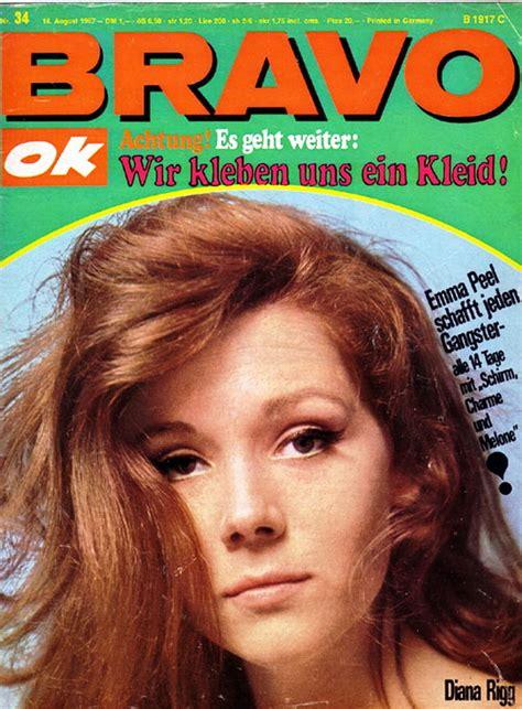 BRAVO magazine - August 1969 (cover) - Diana Rigg Fan Art ...