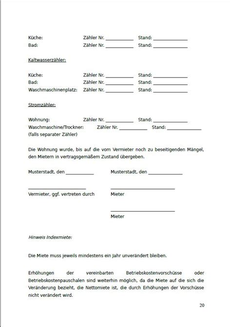 Mietvertrag Download österreich Kostenlos Feccatipe