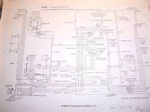 1947 Plymouth Wiring Diagram Schematic