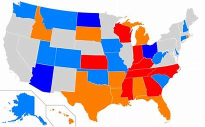 Voter Map State Laws States United Svg