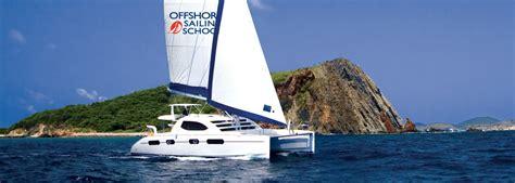 Catamaran Sailing Bvi by Learn To Sail Sailing Lessons Sailing School